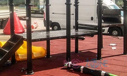 Playground-asfalto